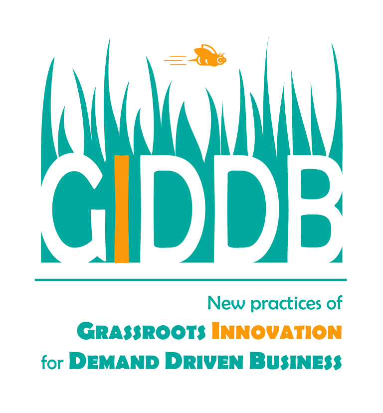 GIDDB - New practices of GRASSROOTS INNOVATION for DEMAND DRIVEN BUSINESS